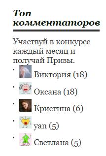 топ коментаторов2