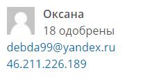 Оксана-2 место